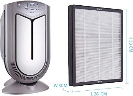 PureMate PM380A Repuesto Inteligente purificador de Aire True HEPA ...