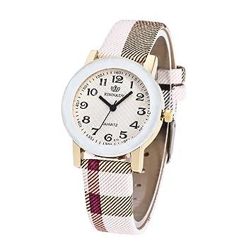 BEUU 2018 New Specials Irregular Stripes Cinturón de cuarzo reloj de las mujeres hombres moda amor ...