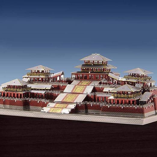 D DOLITY 1: 2300 Juguete de Construcción de Arquitectura Modelo de Palacio de Epang 3D Metal Colecciones Ornamento para Hogar Escritorio: Amazon.es: ...