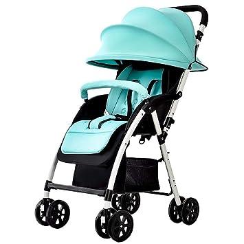 Eeayyygch Cochecito para bebés - Portátil Ultraligero para niños Se Puede sentar en Invierno y en