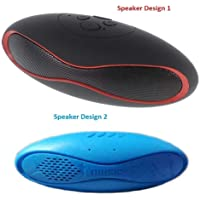 WatertechonoMini Rugby Shape Portable Rechargeable Bluetooth Wireless Speaker