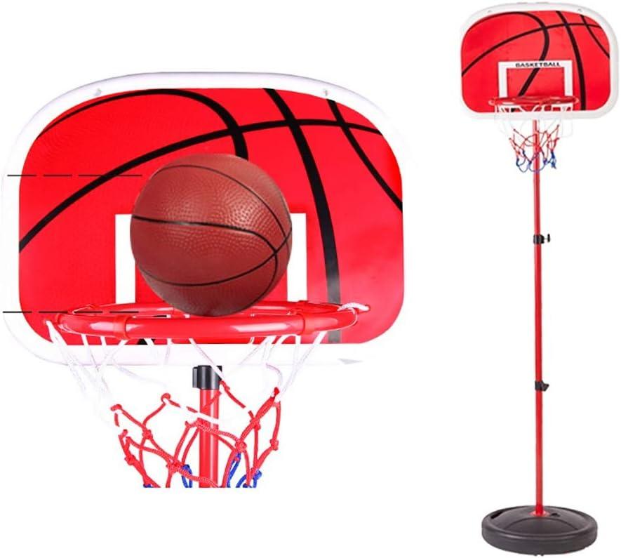Mini mesas de billar Set de baloncesto para niños Aro de baloncesto Puesto de baloncesto Juguetes deportivos Juego mental juguetes de los niños Soporte de baloncesto de altura regulable Regalo para ni: