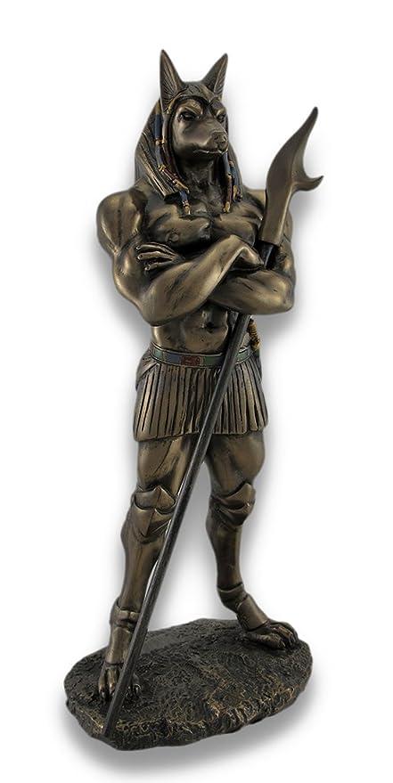 Amazoncom Egyptian God Anubis Statue Deity Jackal Figurine Toys