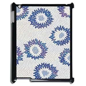 Beautiful Flower Design Unique Customized Hard Case Cover for iPad 2,3,4, Beautiful Flower iPad 2,3,4 Cover Case