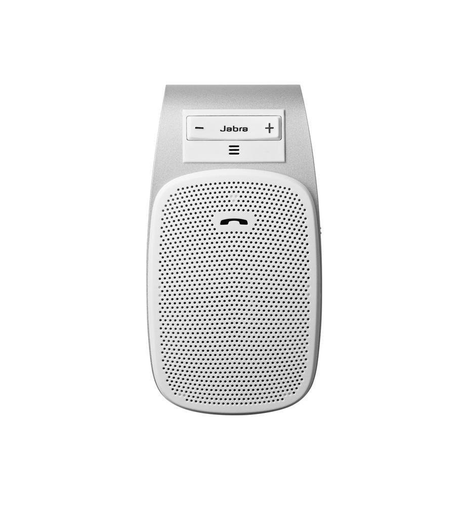Jabra Mobile DRIVE - Kit vivavoce Bluetooth da auto, colore: Bianco SPDRIVEWH