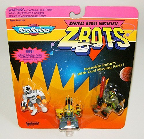 Micro Machines ZBots (Z-bots) 3 Pack #22 for sale  Delivered anywhere in USA