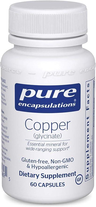Pure Encapsulations Copper (Glycinate)