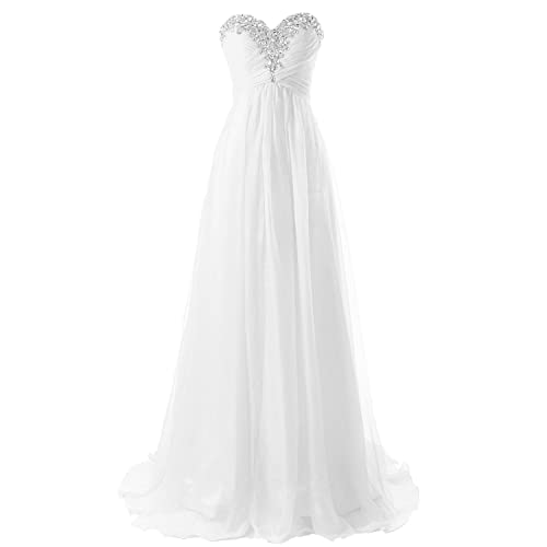 Prom Dress Bridesmaid Dresses Long Chiffon Formal Evening Gown A line