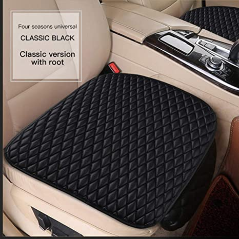 Universal Car Front Seat Covers PU Leather Cover Automobiles Protector Mat New