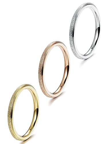 Wistic Jewelry stainless steel gold-plated, 4 sizes 54 57 60 63