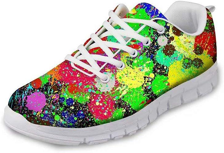 MODEGA Colorful Sneakers Shoes Men