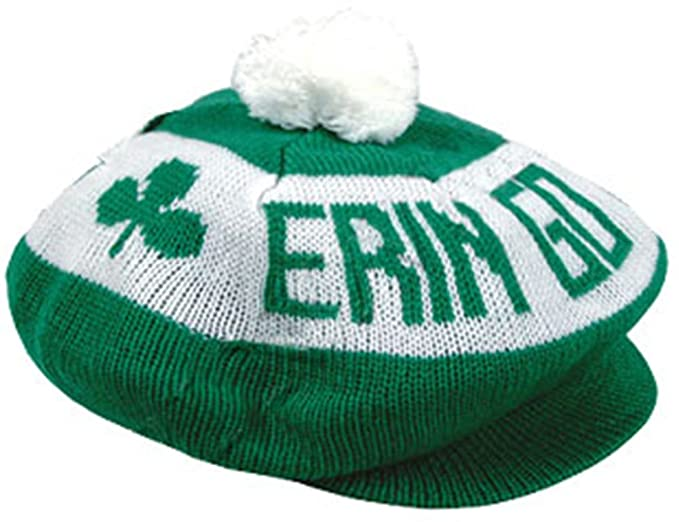 924ab24cdde Amazon.com  St. Patricks Day Erin Go Bragh Braugh Irish Tam Hat  Clothing