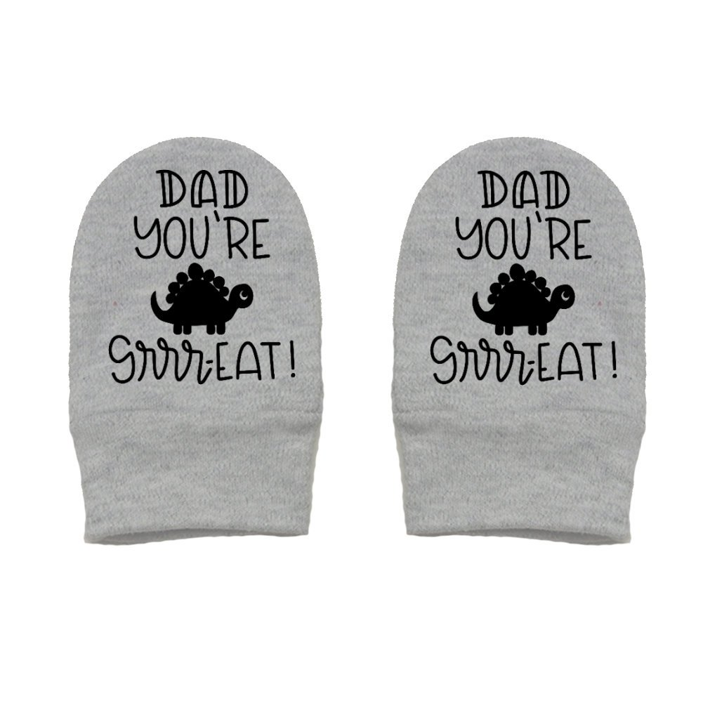 Mashed Clothing Thick /& Soft Baby Mittens Dad Youre Great Thick Premium - Daddy Gift Fathers Day Dino