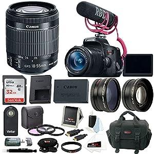 Canon EOS Rebel T6i DSLR Camera & Accessory Bundle