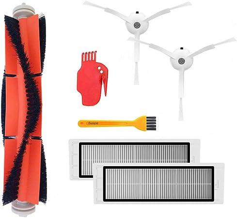 strumento di pulizia Accessori Xiaomi MI Robot Vacuum Part Pack di filtro HEPA spazzola principale spazzola laterale per aspirapolvere mijia//roborock