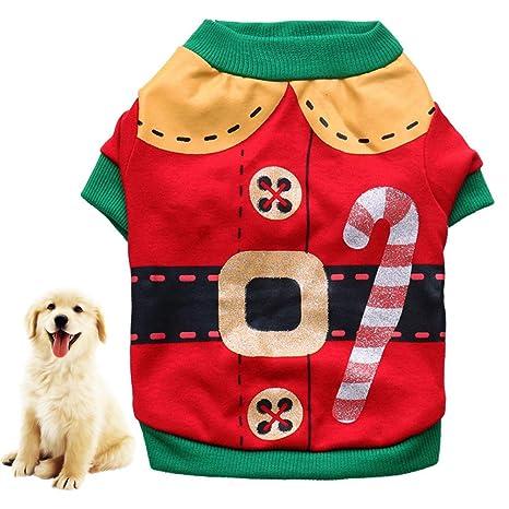 Fucsiaan - Chaleco de Navidad para Perro, Gato, Disfraz de ...