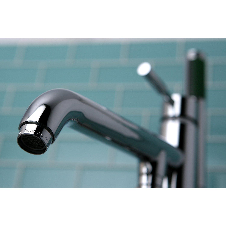 Kingston Brass KS8138DL Concord Pillar Roman Tub Filler with ...