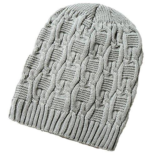 Unisex sombreros punto Womens Beanie de gris caliente invierno de de lana Mens Gorro KeepSa 2017 suave Gorro gorros Brandnew wT81x6qWY