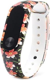 XU-XIAZHI,Millet Miband TPU Tape 2(Color:Orange + Jaune + Rouge)