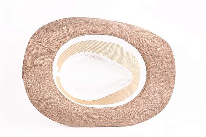 Cosechadoras Sombrero De Paja Hombres Mujeres Sol Sombrero El Para  Protección Chic Ropa Solar Sombrero Unisex Panamá Gángster Con Correa De  Tela Diferentes ... dcd85bdc57fd