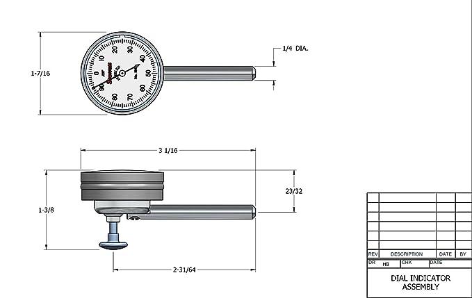starrett 196 dial indicator parts diagram starrett 196b1 universal dial indicator  back plunger  white dial  starrett 196b1 universal dial indicator