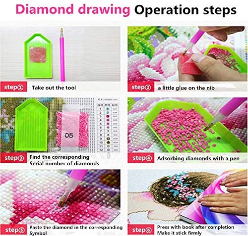 5D Diamant Schilderen Kruis Stitch Kits DIY Volledige Boor Handgemaakte Hond Strass Schilderen Borduurwerk Kruissteken Set Mozaïek Canvas Art Craft Home Muur Decor F15531T 60x70cm