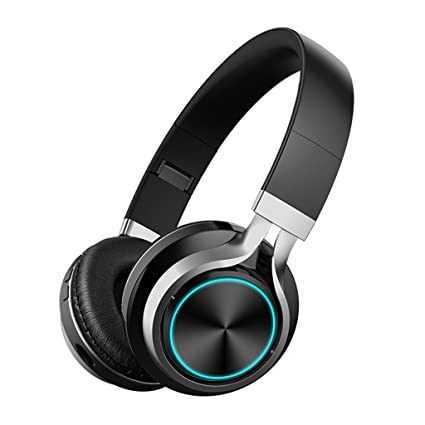 JianMeiHome Auriculares Bluetooth inalámbricos Gaming Headset Computer Phone Universal Long Standby Card Auriculares (Color :