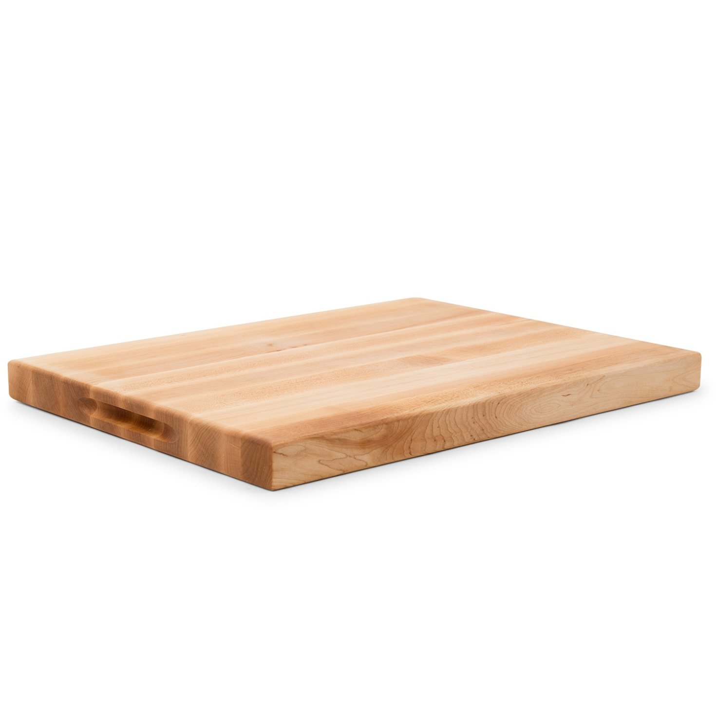 John Boos Maple Wood Edge Grain Reversible Cutting Board with Juice Groove, 20 Inches x 15 Inches x 1.5 Inches by John Boos (Image #3)
