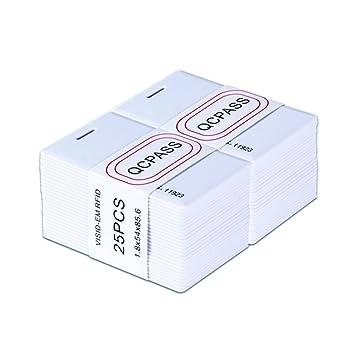 Tags ID Card NFC Tag 25Pcs Tarjeta Inteligente QC Pass ...