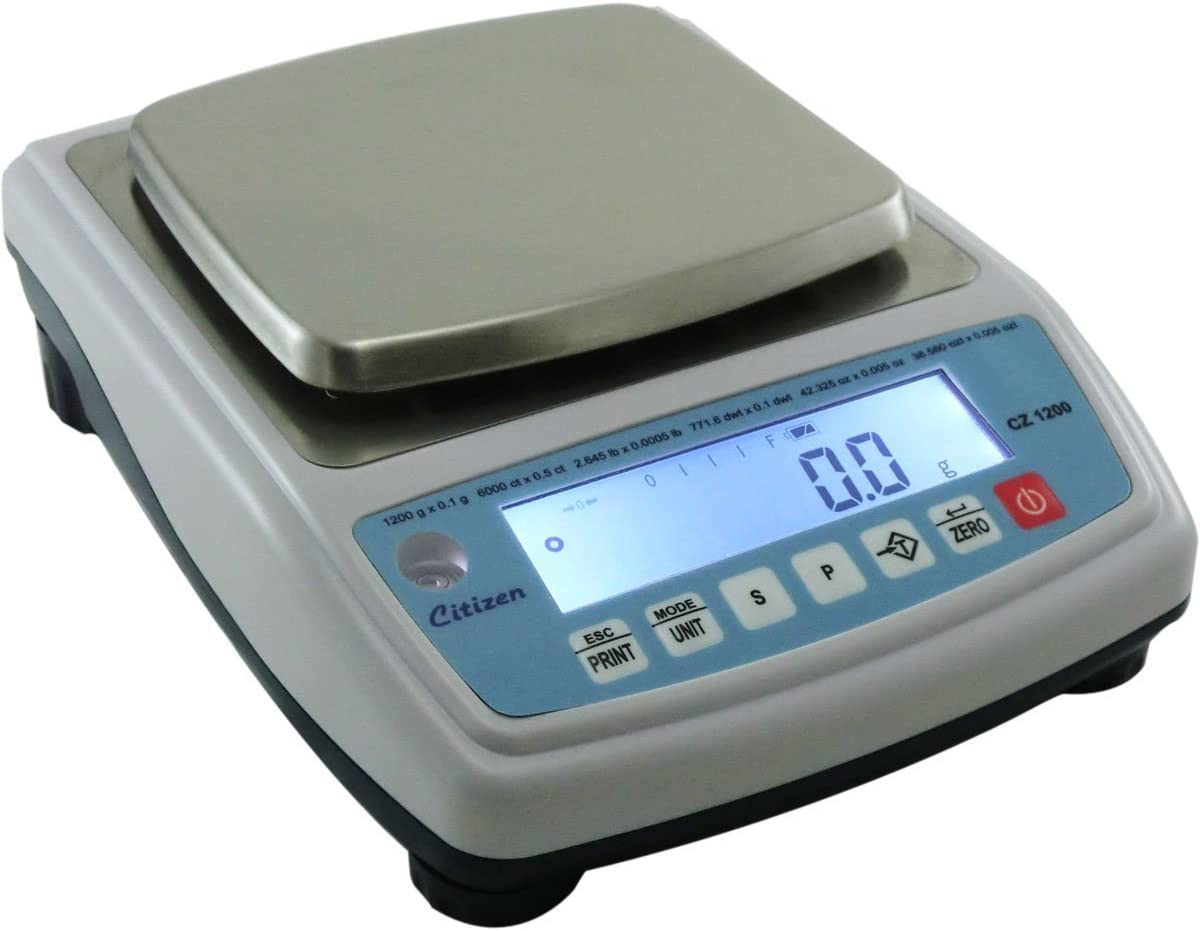Amazon.com: Citizen CZ1200 NTEP Approved Jewelry Scale: Kitchen ...