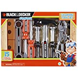 Black & Decker Jr. B&D Learning Tool Set (15-Piece)