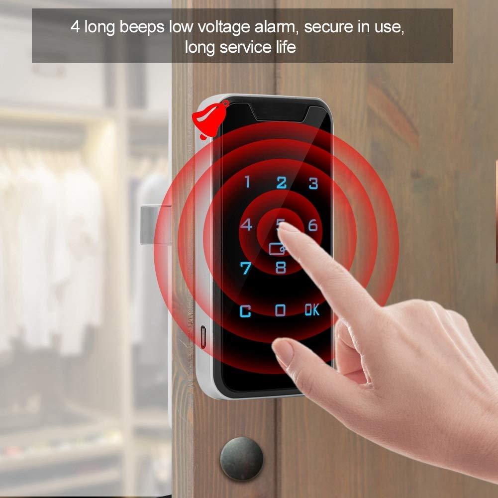 intelligentes digitales Passwortschloss Wallfire Elektronisches Schrankschloss Touchscreen-Tastatur und RFID-Kartenschrank-Aktenschrankschloss