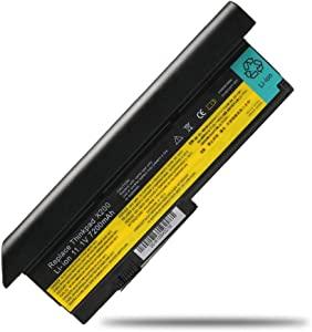 11.1V 7200mAh New Laptop Battery for Lenovo IBM ThinkPad X200 X200s X201 X201i X201s Compatible P/N: 42T4534 42T4535 42T4543 42T4650 42T4834 42T4835