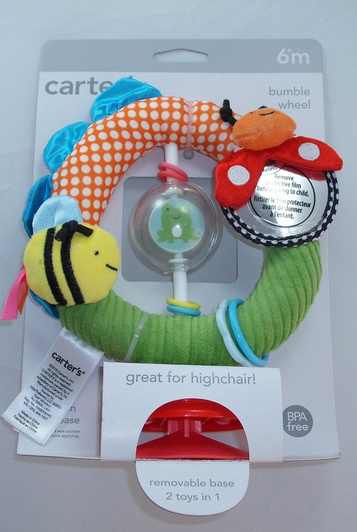 Carters Bumble Wheel 2 Toys in 1