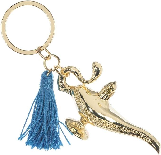 Amazon.com: Llavero con diseño de Aladdin Genie: Clothing