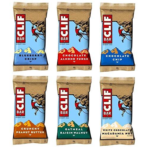 Clif Bar Energieriegel Variety Probier- Paket, 6 x 86g (408 g)