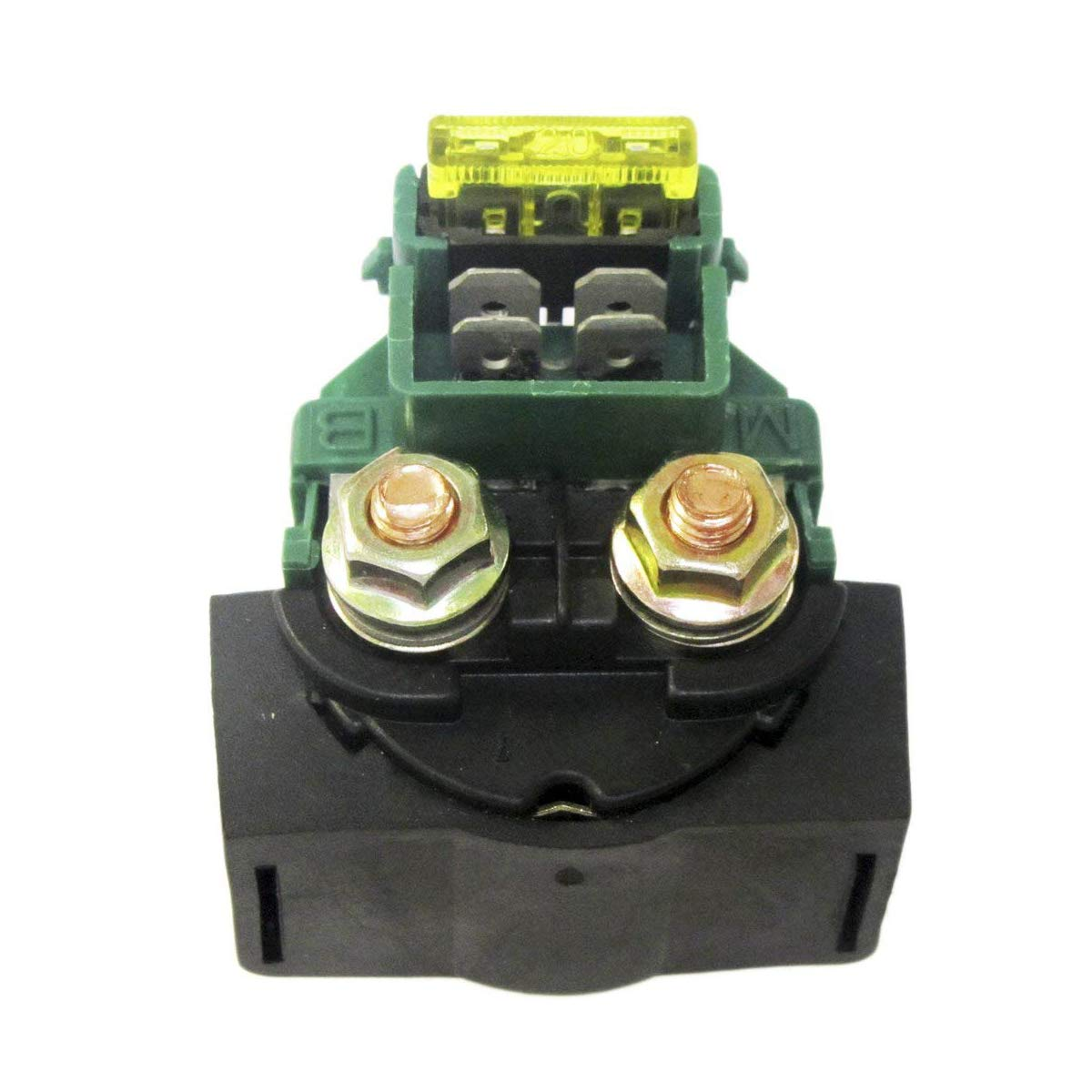 AUTVAN Starter Relay Solenoid for Kawasaki KLX650 1993-1996 Bayou 220 KLF220 1988-2002 Bayou 250 KLF250 2003-2010#27010-1243 27010-1283 ATV New