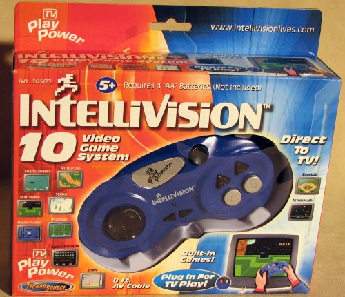 Video Game Hardware (Intellivision 10 Game Video Game)