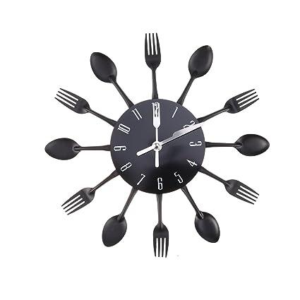 WINOMO Casalinghi orologio da parete posate Cucchiaio da cucina ...