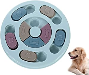 Dog Puzzle Toys,Puppy Puzzle Game Toy,Interactive Game Toy for Dogs,Dog Interactive Feeder Bowl,Dog Slow Feeder Puzzle Toy for Pet Dogs Puppy Cats Prevent Boredom and Upset