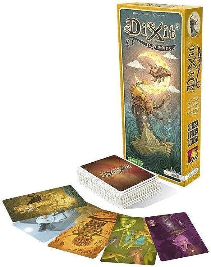 Outletdelocio. Expansion Dixit 5: Daydreams para el Juego de mesa Dixit. Edicion Española: Amazon.es: Juguetes y juegos
