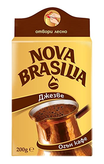 Nova Brasilia Café Turco Búlgaro Marrón 200g