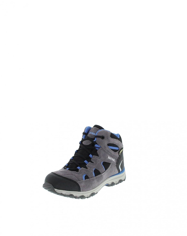 Meindl 2096-31 Stra Junior Mid GTX Anthrazit Blau  Kinderschuhe Wanderschuhe  Wasserdicht Atmungsaktiv