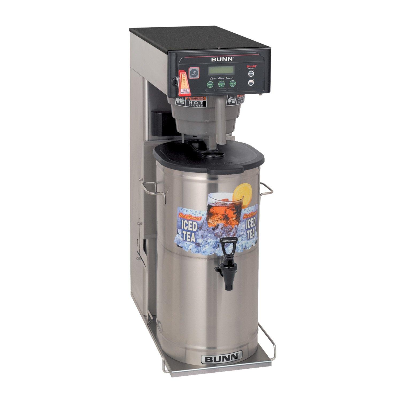 Amazon.com: BUNN 35700.001900000003 BUNN ITCB-DV Infusion Series Brew Wise  DBC Tea and Coffeemaker, Black/Stainless: Kitchen & Dining
