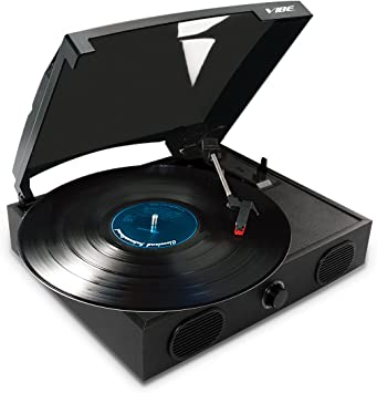Amazon.com: VIBE SOUND VS-2002-SPK, tocadiscos USB con ...