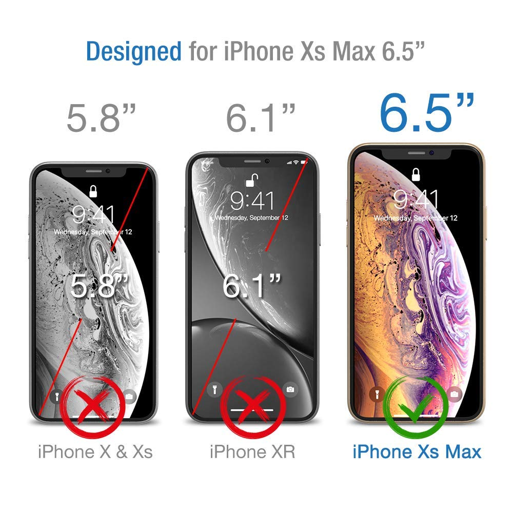 Jakpas Screen Protector for iPhone 11 Pro Max(6.5\'\'), iPhone Xs Max (6.5 inch),[3 Pack] Tempered Glass Screen Protector,Bubble Free,Anti-Scratch,High Responsive Work Most Case for iPhone Xs Max