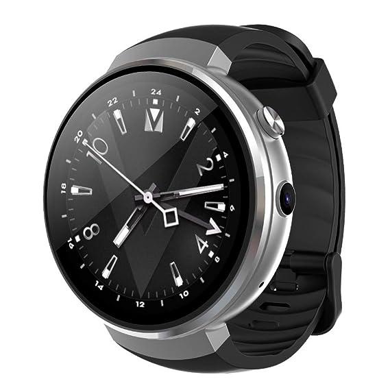 Reloj Digital Impermeable para Hombre, Reloj Inteligente 2018 Reloj Hombre 4G WiFi GPS Frecuencia cardíaca