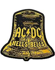 AC/DC Patch - Hells Bells Cut Out Patch - geweven & gelicentieerd !!