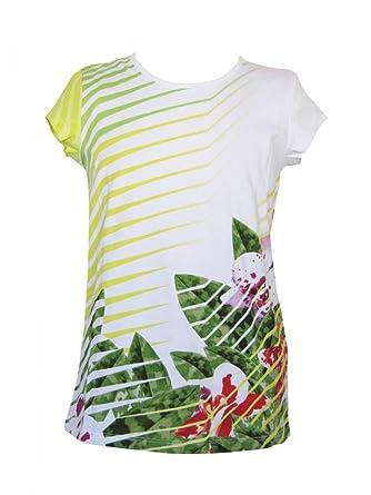 f744a493d4a0 KENZO KIDS - T-shirt jersey de coton imprimé vert Kenzo kids  Amazon.fr   Vêtements et accessoires