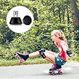2 Pieces Roller Skate Toe Stoppers Rubber Skate